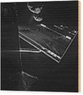 Rosettas Philae Lander At Comet 67pc-g Wood Print
