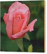 Rosey Wood Print