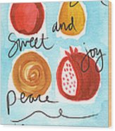 Rosh Hashanah Blessings Wood Print