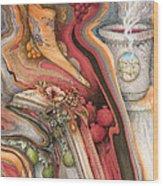 Rosh Hashanah Meditation Wood Print