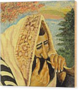 Rosh Hashanah Wood Print by Mimi Eskenazi