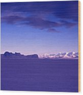 Ross-iceshelf-g.punt-1 Wood Print