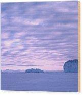 Ross-iceshelf-g.punt-2 Wood Print