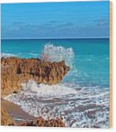 Ross Witham Beach 5 Wood Print