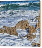 Ross Witham Beach Stuart Florida Wood Print