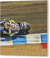 Rossi From Above Wood Print