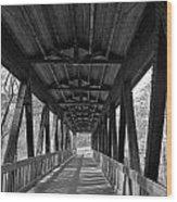 Roswell Bridge 1 Wood Print