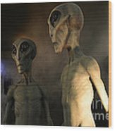 Roswell Visiting Hour Wood Print
