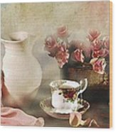 Rosy Complexion Wood Print
