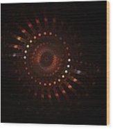 Rotation Wood Print by Steve K