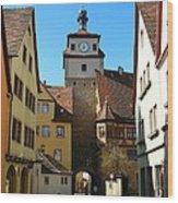 Rothenburg Ob Der Tauber Wood Print