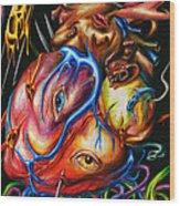 Rotting Heart Wood Print