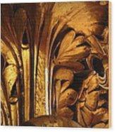Rotunda Detail Wood Print