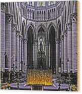 Rouen Cathedral  Wood Print