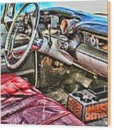 Rough Riding By Diana Sainz Wood Print