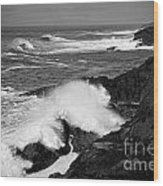 Rough Surf Wood Print