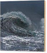Rough Wave Wood Print