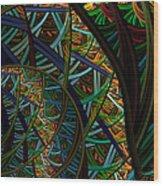 Round 2 Wood Print