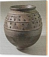 Round Bottom Pot Wood Print