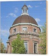 Round Lutheran Church In Amsterdam Wood Print