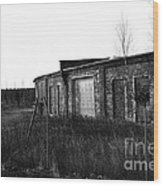 Roundhouse Wood Print
