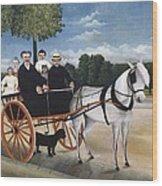 Rousseau, Henri 1844-1910. Old Man Wood Print by Everett