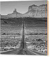 Route 163 Wood Print