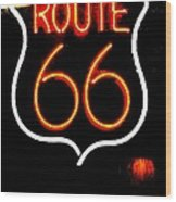 Route 66 2 Wood Print