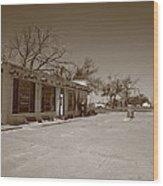 Route 66 - Bent Door Cafe Wood Print
