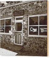 Route 66 Cafe 8 Wood Print