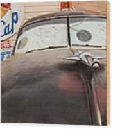 Route 66 Cars  Wood Print