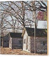 Route 66 John's Modern Cabins Wood Print