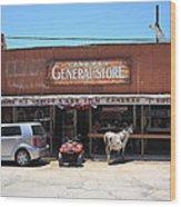 Route 66 - Oatman General Store Wood Print
