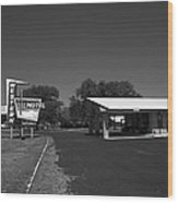 Route 66 - Western Motel 8 Wood Print