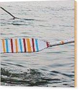 Rowing Oar Wood Print