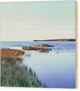 Rowleys Bay, Newport State Park, Door Wood Print