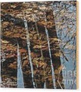 Rows Wood Print