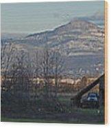 Roxy Ann And Mt Mclaughlin Wood Print