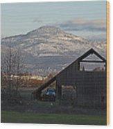 Roxy Ann And The Dark Barn Wood Print