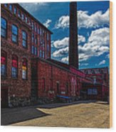 Roy Hill Roy Continental Mill Wood Print by Bob Orsillo