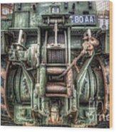 Royal Army Bulldozer Wood Print by Yhun Suarez