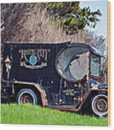 Royal City Paddy Wagon Wood Print