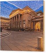 Royal Exchange Square At Borders Wood Print