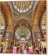 Royal Exhibition Building II Wood Print