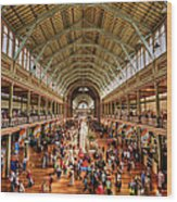 Royal Exhibition Building IIi Wood Print by Ray Warren