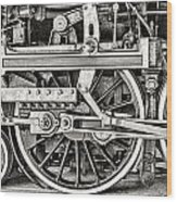 Royal Hudson Wood Print
