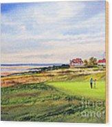 Royal Liverpool Golf Course Hoylake Wood Print