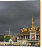 Royal Palace Cambodia Wood Print