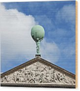 Royal Palace In Amsterdam Architectural Details Wood Print