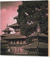 Royal Palace Wood Print by Nila Newsom